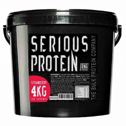 Serious Protein Whey & Casein Powder 4kg; All Flavours; The Bulk Protein Company